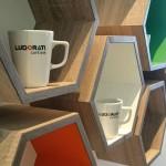 Ludorati Hexagon Shelves